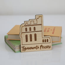 Load image into Gallery viewer, Tynemouth Priory Eco Friendly Wood Magnet