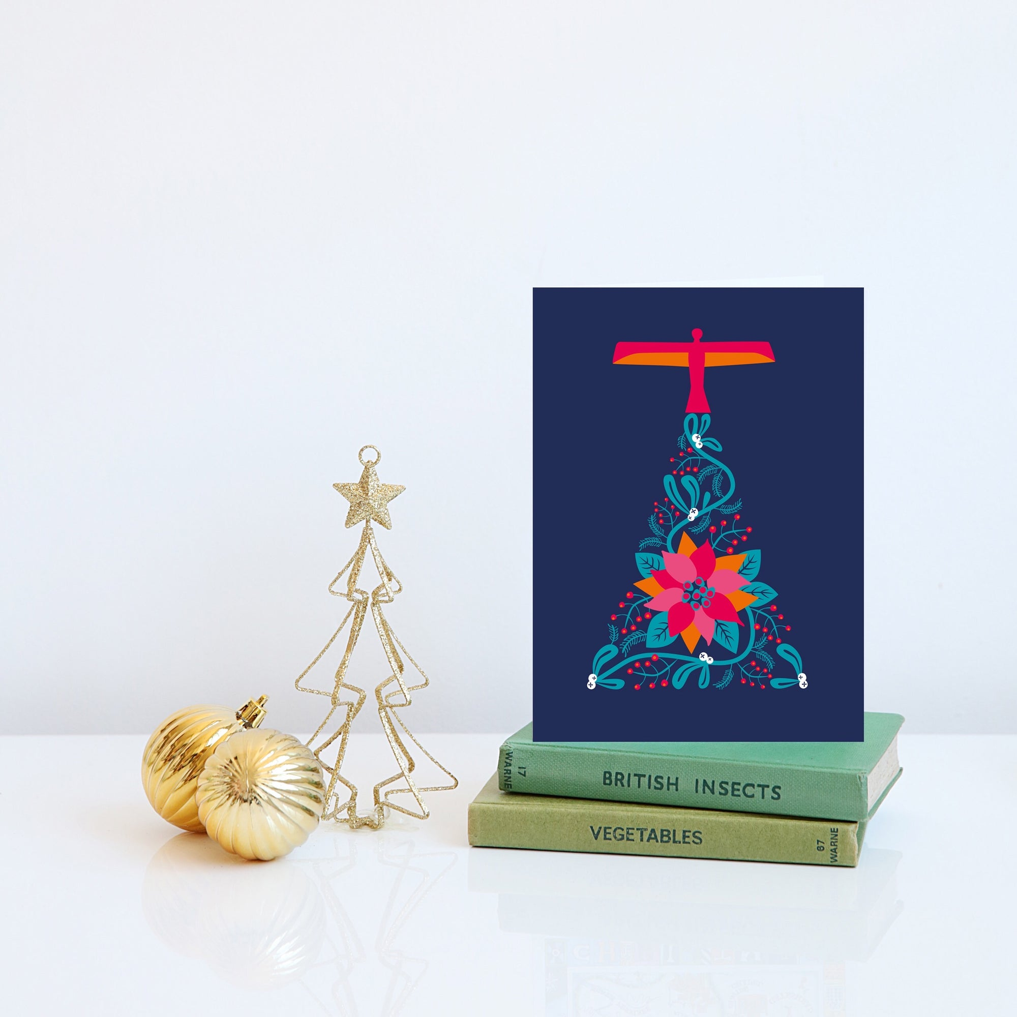 Angel of the North Christmas card - PACK OF 5 CARDS