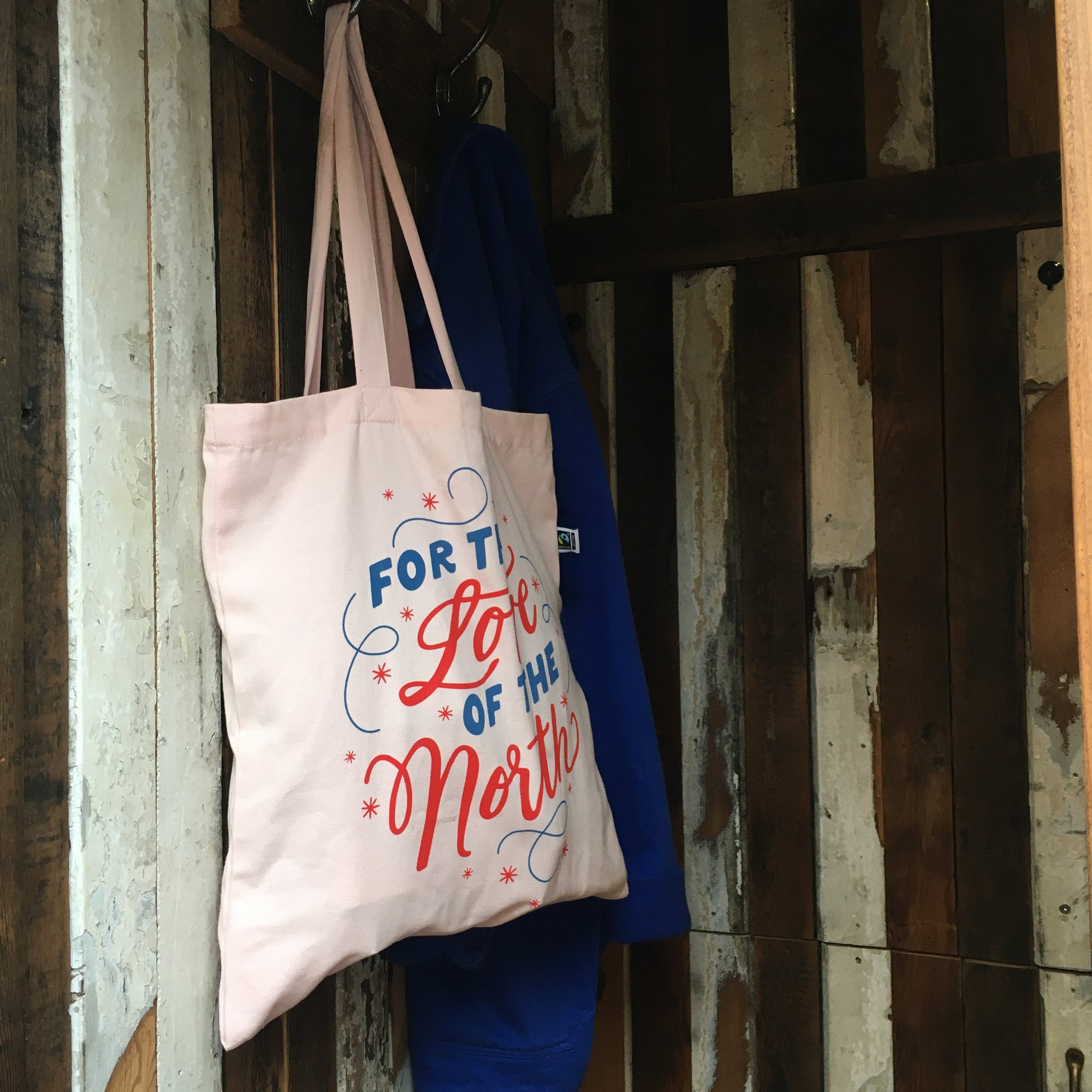 For the Love of the North organic & fair trade tote bag
