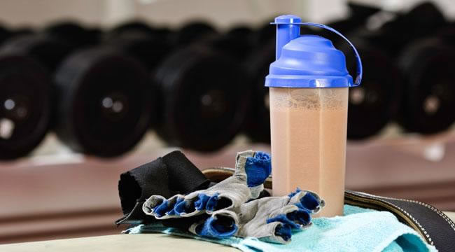 PROTEIN SHAKE MAKES THE PERFECT BREAKFAST