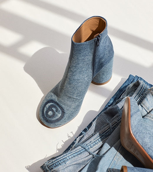 THE DENIM BOOT BY MM6 MAISON MARGIELA
