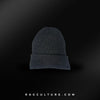 Dark Grey Satin Lined Beanie - RagCulture