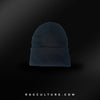Black RC Satin Lined Beanie - RagCulture
