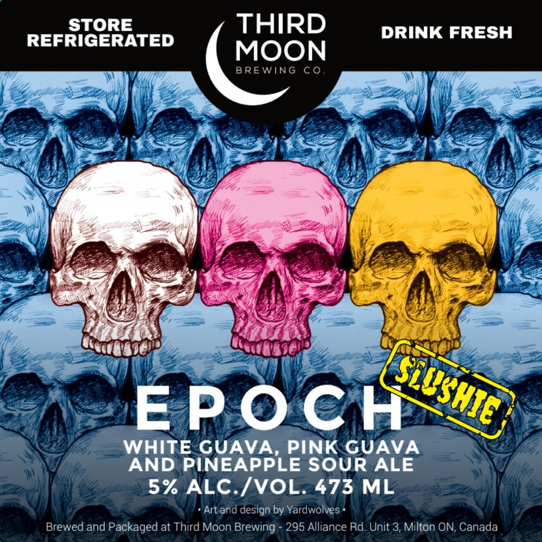 Fruited Slushie Sour - Epoch (White Guava/Pink Guava/Pineapple) - Third Moon