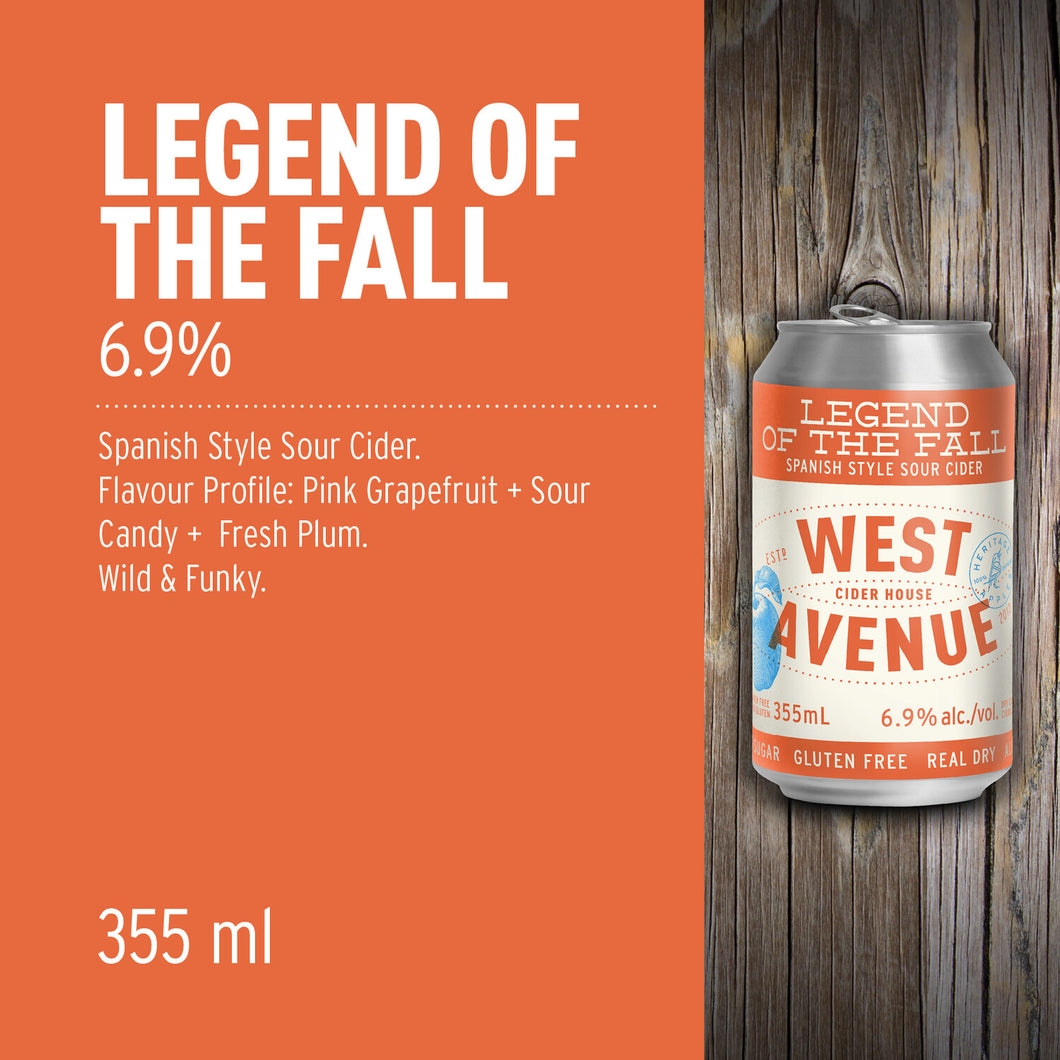 LEGEND OF THE FALL, 6.9% (355ml)  - West Avenue
