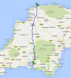 18th-19th September 2021 Devon Coast to Coast Cycle Ride