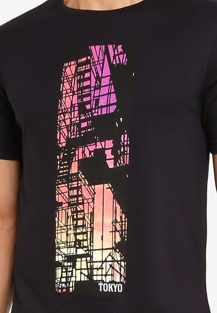 Tokyo Logo Graphic Tee - UniqTee Tokyo Style