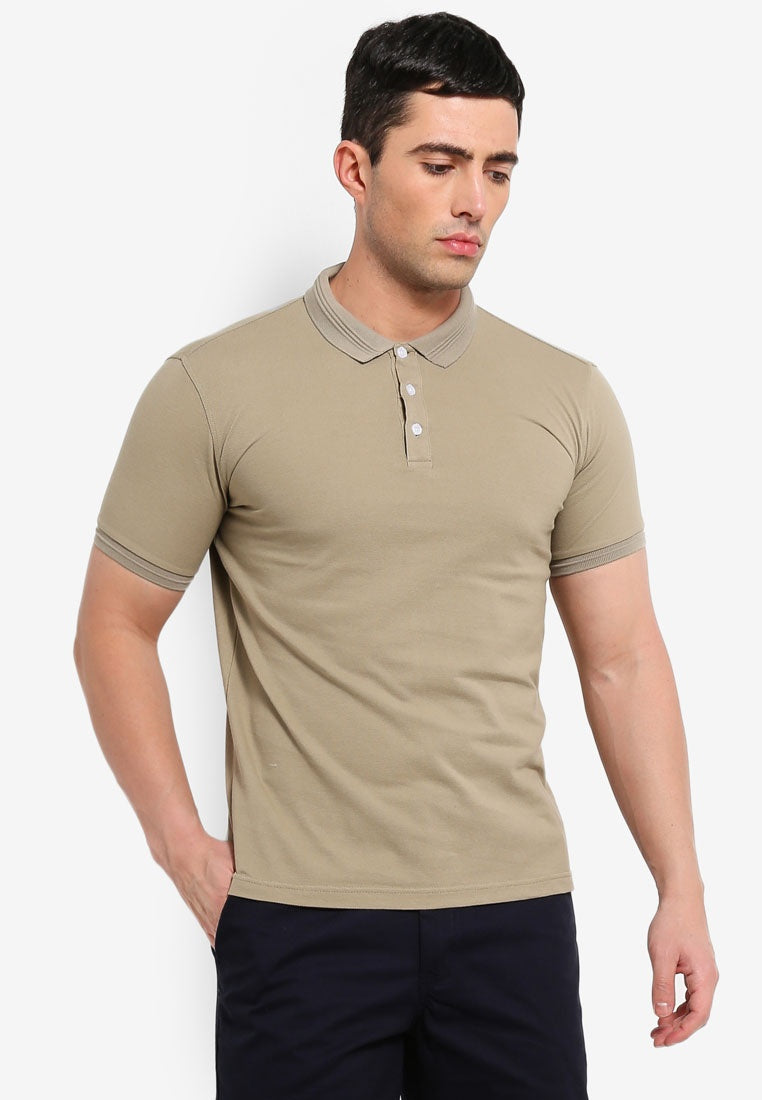 Basic Slim Fit Polo