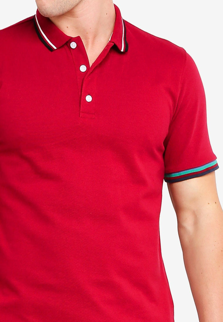 Polo Shirt With Zip