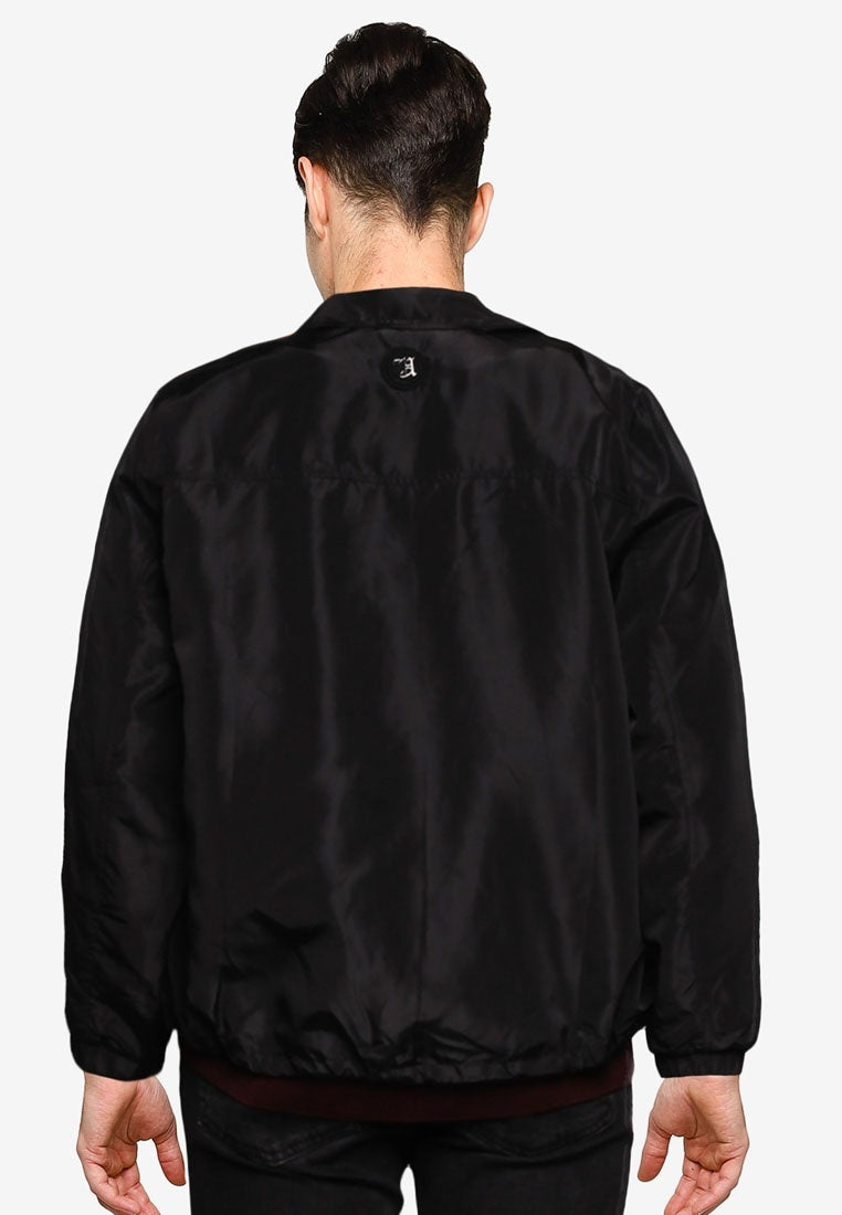 Water Repellent Snap Button Coach Jacket