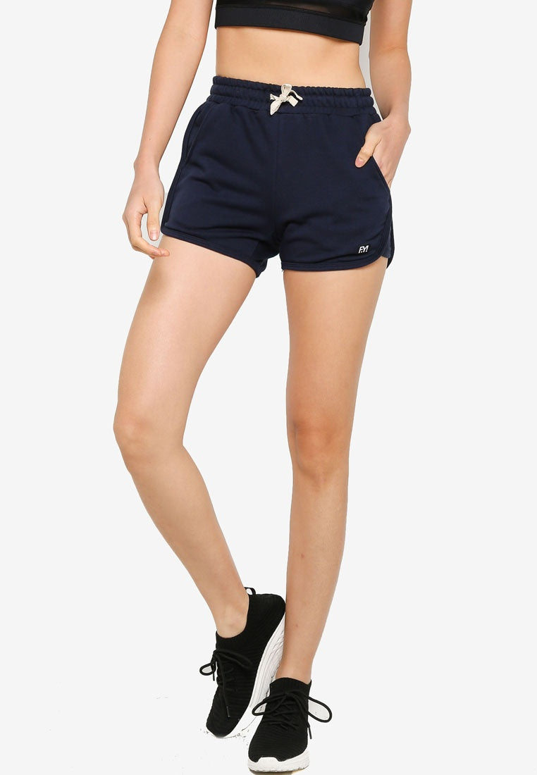 Fitness Shorts with Elastic Waistband - UniqTee Tokyo Style