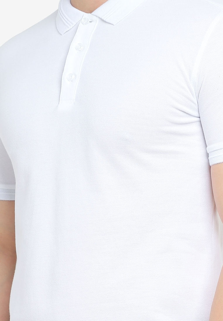 Basic Slim Fit Polo Shirt