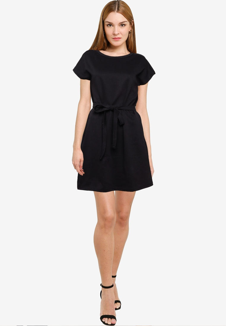 Belted T-Shirt Dress