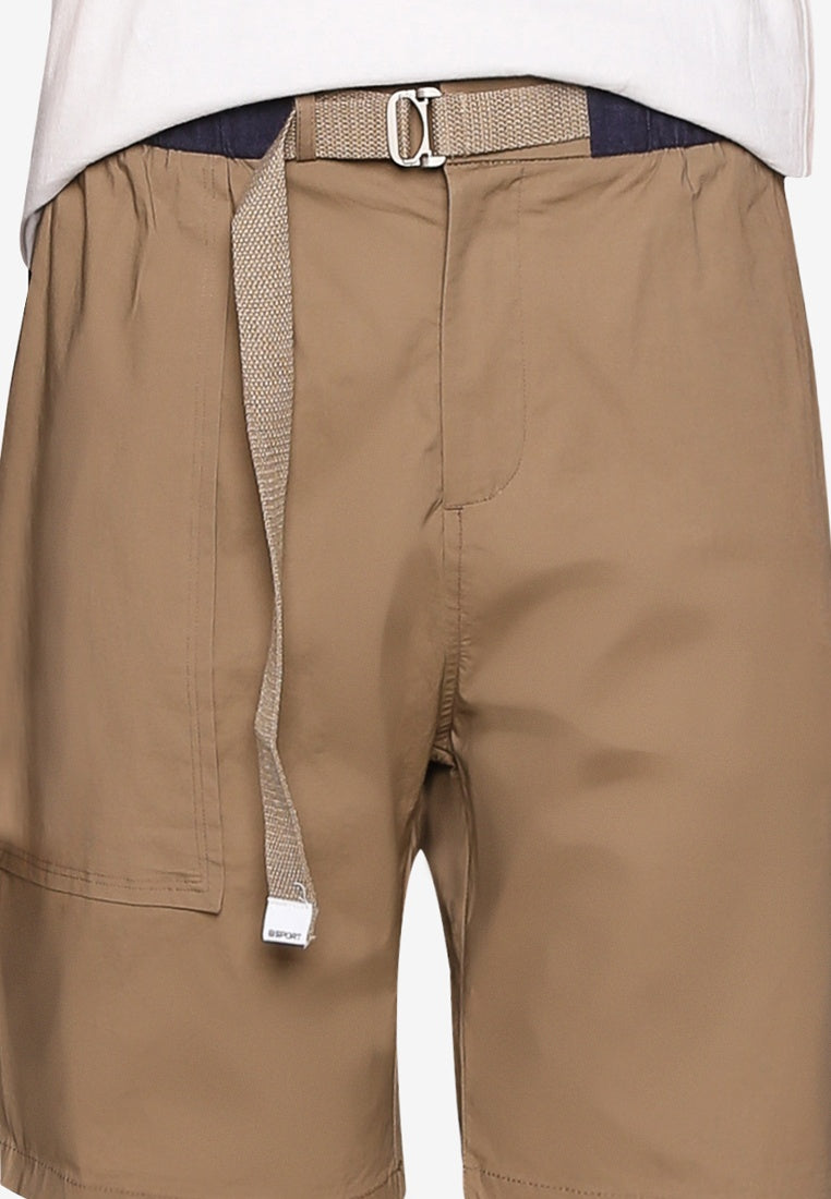 Chinos Shorts with Belt