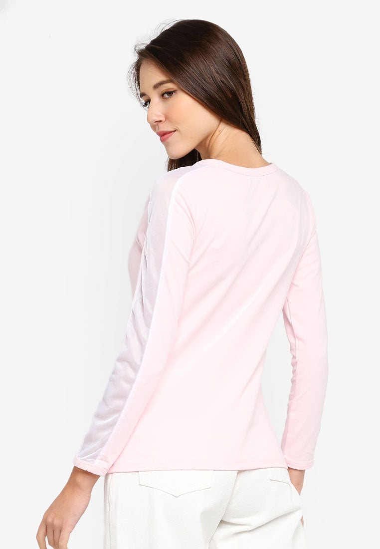 Side Stripe Long Sleeve Tee
