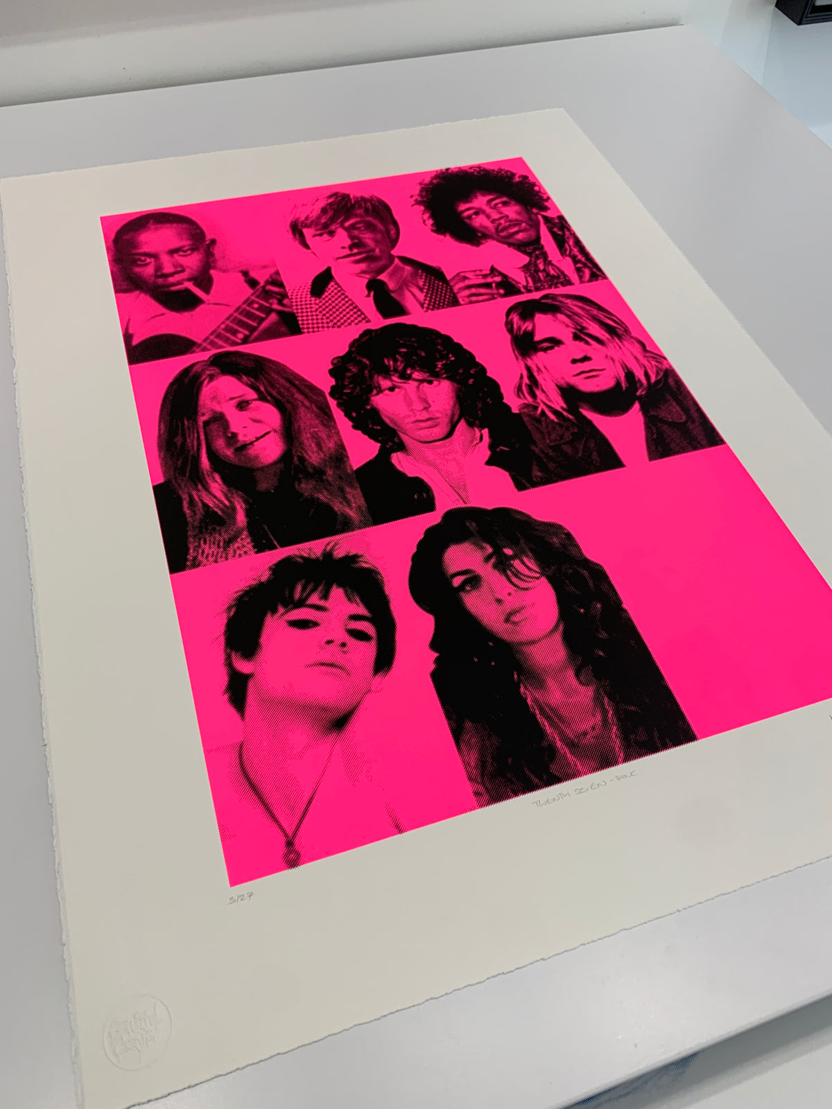 27 Club (Black and Pink)