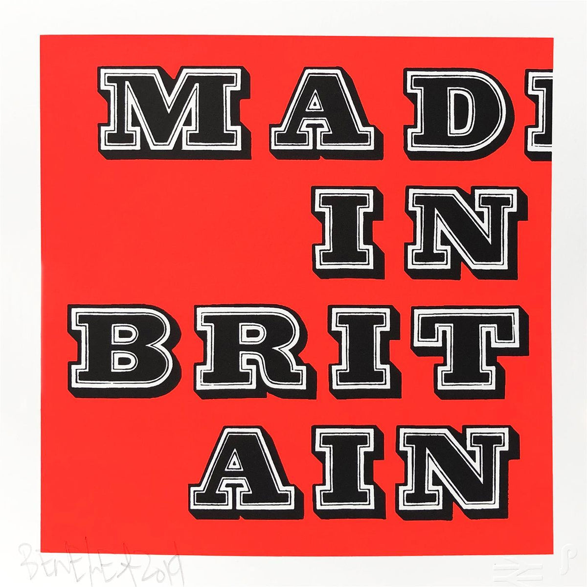 Mad In Britain – Fluro Red