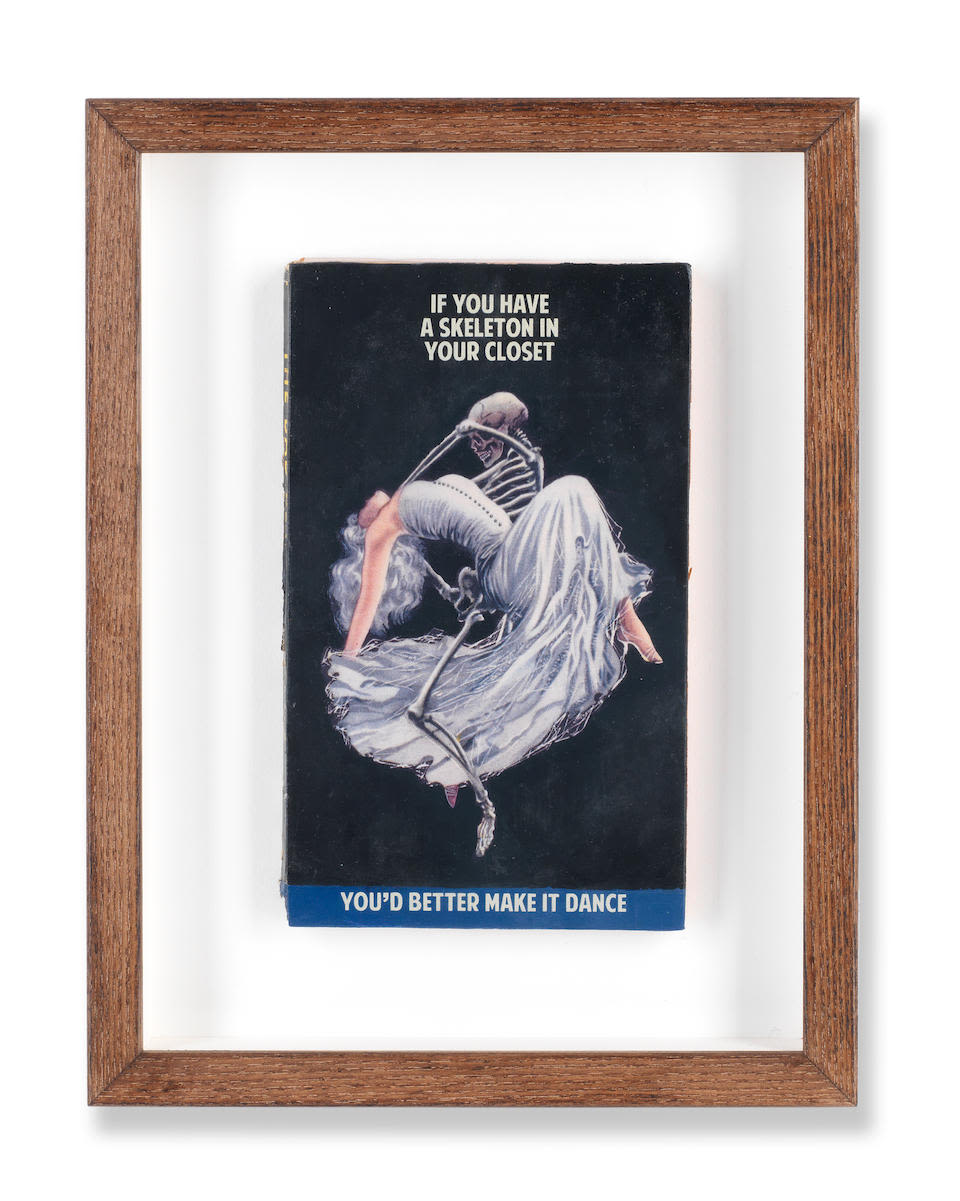 If You Have A Skeleton In Your Closet You'd Better Make It Dance - FRAMED