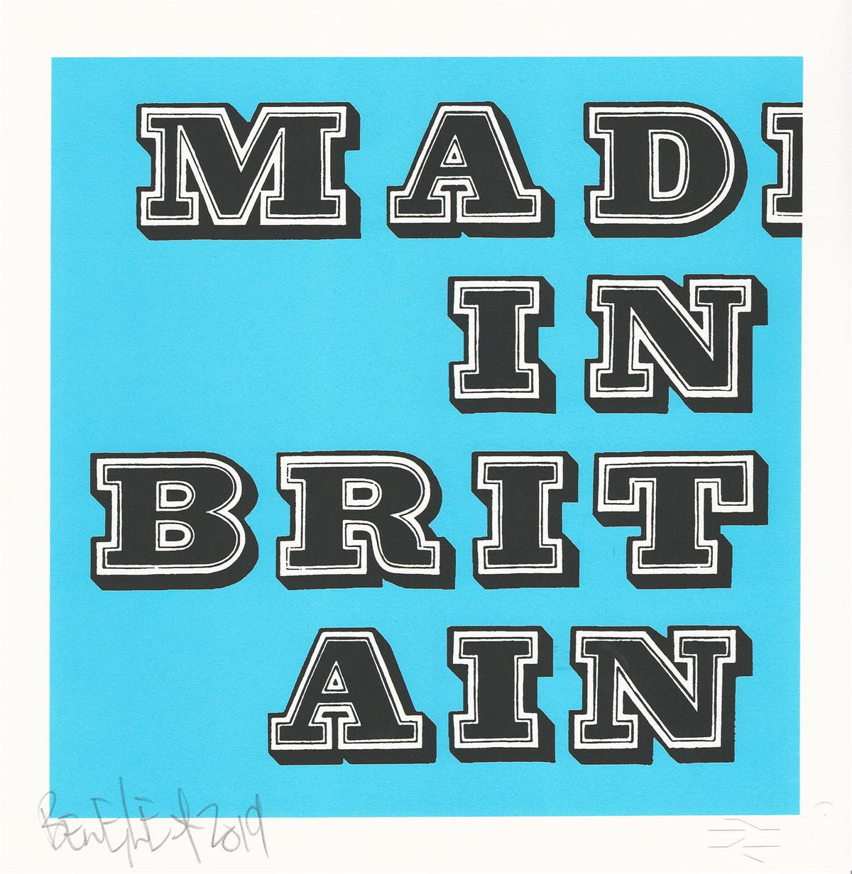 Mad In Britain – Fluro Blue