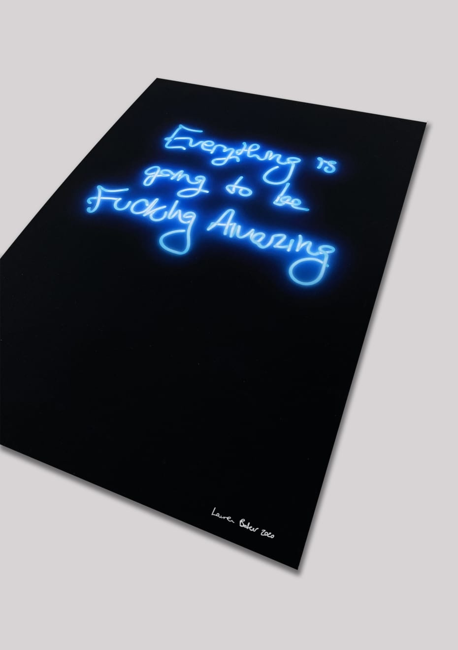 Everything Is Going To Be F*cking Amazing – Electric Blue Mini