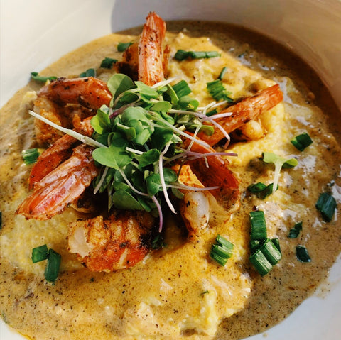 Noelle's Catering Bubba's Southern Shrimp & Grits