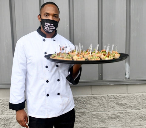 Darius Johnson CEO/Owner The Groove Smoothie & Juice Bar and Noelle's Catering