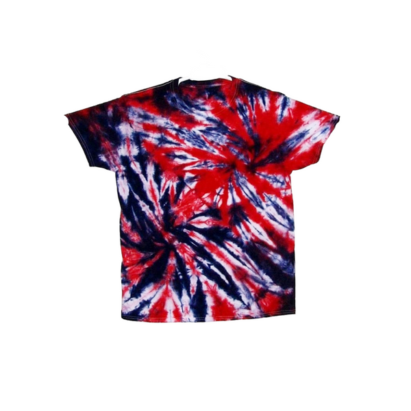Tie Dye Short Sleeve Shirt Double Spiral Handmade Tye Die Infant Toddler Youth Adult 6 mos 12 mos 18 mos 24 mos 2T 3T 4T 5T 6T XS S M L XL 2XL 3XL 4XL 5XL