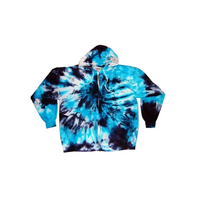 Tie Dye Hoodie Zipper Hoodie Pullover Hoodless Sweater Options Spiral Adult S-3XL - ID 1000HS