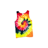 Tie Dye Men's Tank Top Spiral Ultra Cotton Adult Sizes S M L XL 2XL 3XL - ID 1000MT