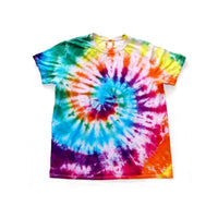 Tie Dye Short Sleeve T Shirt Spiral Sizes Infant Toddler Youth Adult - ID 10095.3