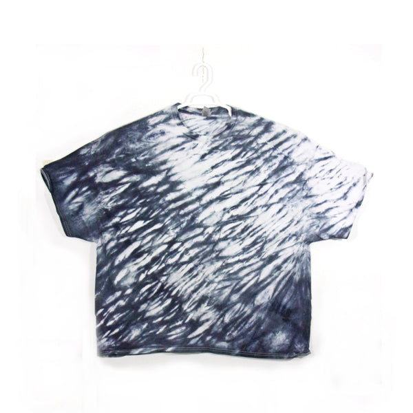 Tie Dye T Shirt Adult 5XL Crew Neck Shibori Gildan Ultra Cotton 6 ounce Short Sleeve Premade