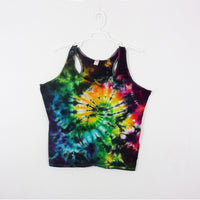 Tie Dye Tank Top Adult 2XL Galaxy Swirl Racerback Ladies Tank Top Women's Premade