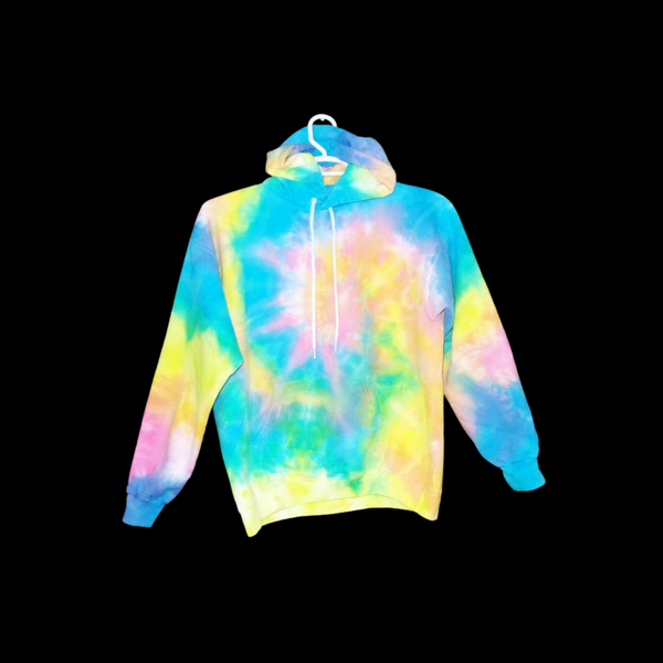 Tie Dye Hoodie Zipper Hoodie Pullover Hoodless Sweater Options Spiral Adult S-3XL - ID 1018HS