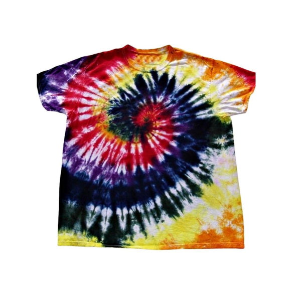 Tie Dye Short Sleeve T Shirt Spiral Sizes Infant Toddler Youth Adult - ID 10255.3