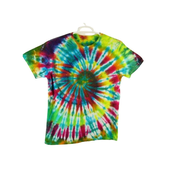 Tie Dye Short Sleeve T Shirt Spiral Sizes Infant Toddler Youth Adult - ID 10275.3