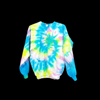 Tie Dye Hoodie Zipper Hoodie Pullover Hoodless Sweater Options Spiral Adult S-3XL - ID 1029HS