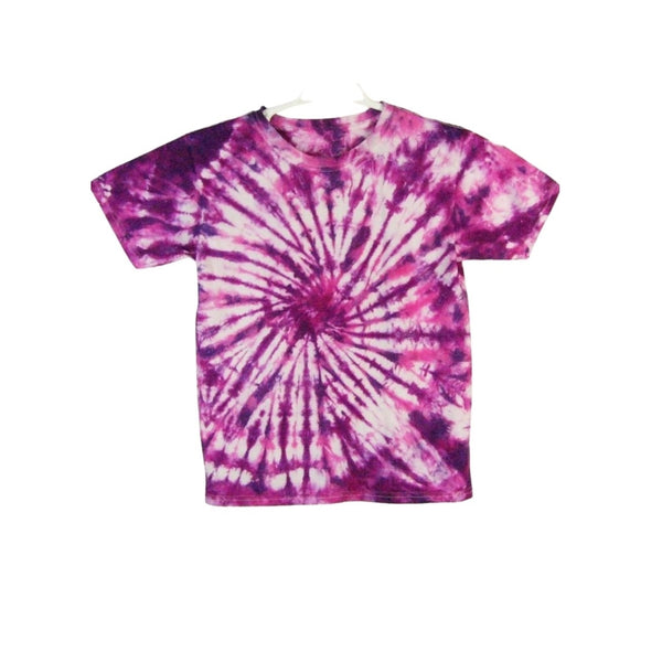 Tie Dye Short Sleeve T Shirt Spiral Sizes Infant Toddler Youth Adult - ID 10385.3