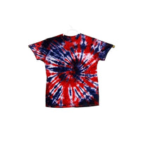 Tie Dye Short Sleeve T Shirt Spiral  Sizes Infant Toddler Youth Adult - ID 10465.3