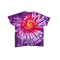 Tie Dye Short Sleeve T Shirt Spiral  Sizes Infant Toddler Youth Adult - ID 10495.3
