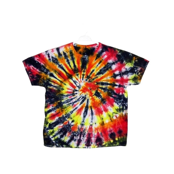 Tie Dye Short Sleeve T Shirt Spiral Sizes Infant Toddler Youth Adult - ID 10625.3