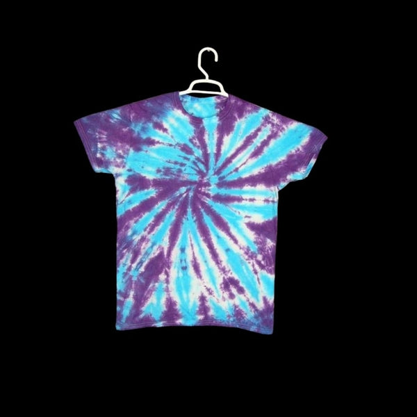 Tie Dye Short Sleeve T Shirt Spiral Sizes Infant Toddler Youth Adult - ID 10665.3