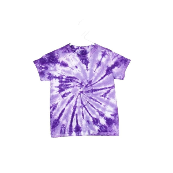 Tie Dye Short Sleeve T Shirt Spiral Sizes Infant Toddler Youth Adult - ID 10735.3