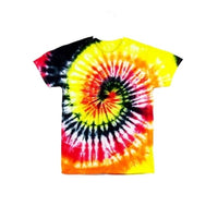 Tie Dye Short Sleeve T Shirt Spiral Sizes Infant Toddler Youth Adult - ID 10865.3