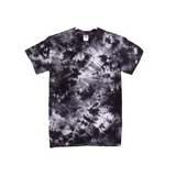 Tie Dye Short Sleeve T Shirt 6oz Crinkle Adult Sizes S M L XL 2XL 3XL 4XL 5XL - ID 20006oz