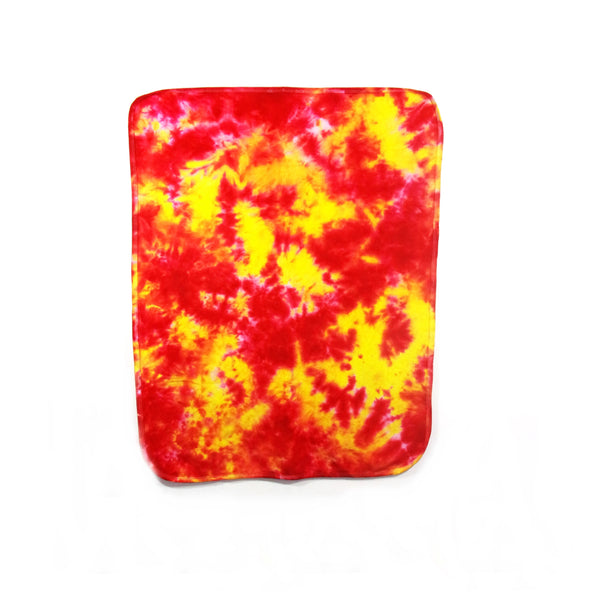 Tie Dye Baby Blanket Crinkle Infant Blanket Soft Cotton Receiving Blanket - ID 2001BB