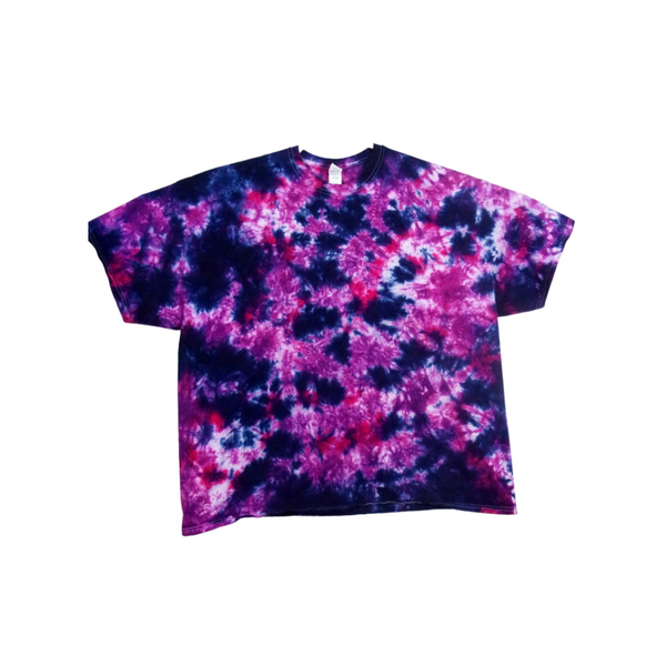 Tie Dye Crinkle Gildan Ultra Cotton Short Sleeve 6 ounce Heavy Weight T Shirts Adult Sizes S M L XL 2XL 3XL 4XL 5XL