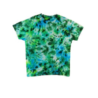 Tie Dye Short Sleeve T Shirt Crinkle Sizes Infant Toddler Youth Adult - ID 20165.3