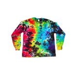 Tie Dye Long Sleeve T Shirt 5.3oz Crinkle Youth XS-XL Adult S-3XL - ID 2020LS