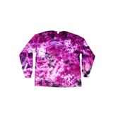 Tie Dye Long Sleeve T Shirt 5.3oz Crinkle Youth XS-XL Adult S-3XL - ID 2024LS