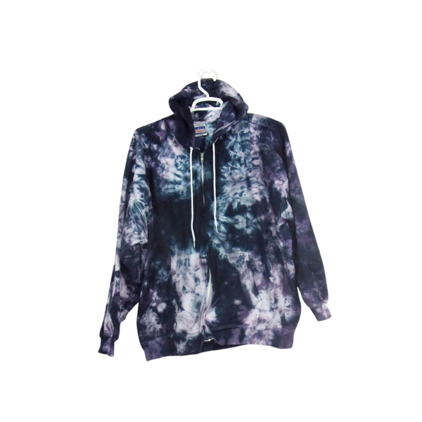 Tie Dye Hoodie Zipper Hoodie Pullover Hoodless Sweater Sweatshirt Options Crinkle S M L XL 2XL 3XL Heavyweight